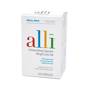 Alli Orlistat Weight Loss Aid