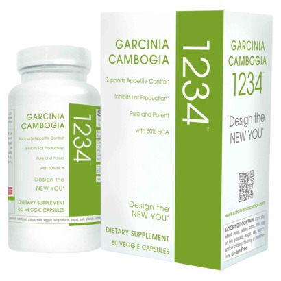Garcinia Cambogia 1234 By Creative Bioscience