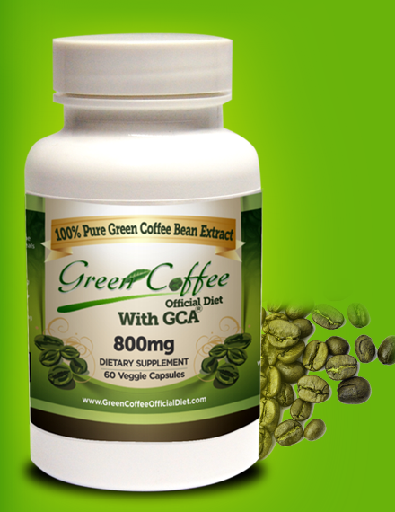 Green Coffee Official Diet with GCA Review