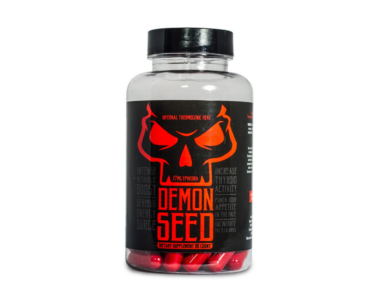 Demon Seed Ephedra Review | Fat Burner Pill | Is it Safe?
