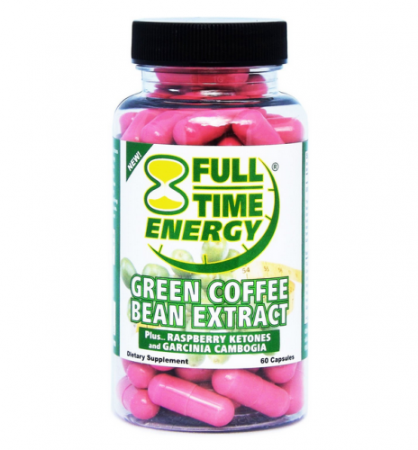 Full-Time Energy Green Coffee Bean Extract Review | Diet ...